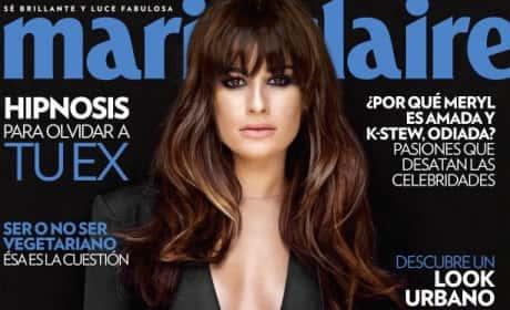 Lea Michele Marie Claire Cover