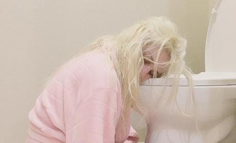 Courtney Stodden Gets Morning Sick