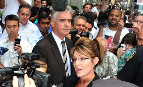 """Did Sarah Palin make a racist remark about President Obama with """"shuck and jive shtick?"""""""