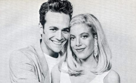 Tori Spelling and Luke Perry: 90210 Throwback Thursday