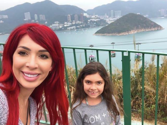 Farrah and sophia abraham selfie