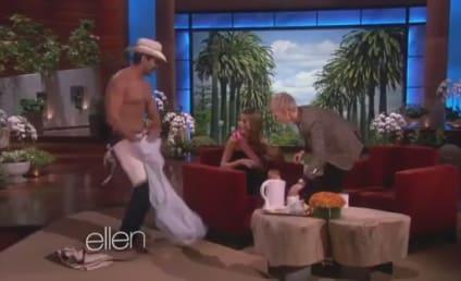 Sofia Vergara: Lap Dance From Shirtless Stripper!