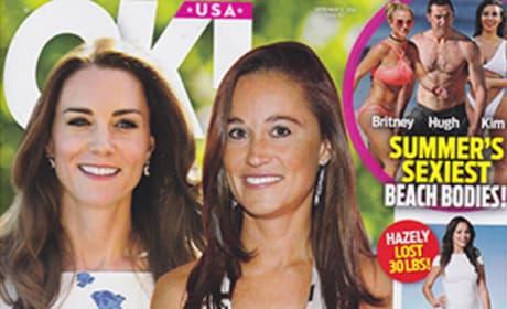 Kate Middleton Pippa Middleton Pregant OK! Magazine
