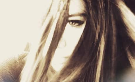 Selena Gomez Poses on Instagram