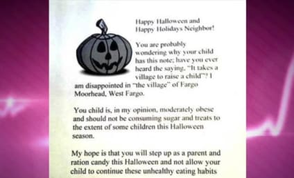 "Woman Hands Out Letters to ""Overweight"" Children on Halloween Instead of Candy"