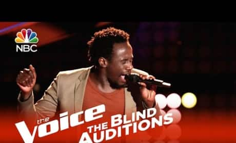 Anthony Riley Blind Audition