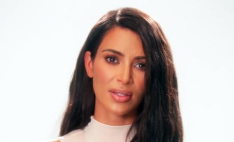 Kim Kardashian on Camera