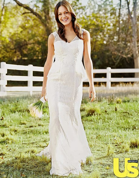 Desiree Hartsock Wedding Dress First Look The