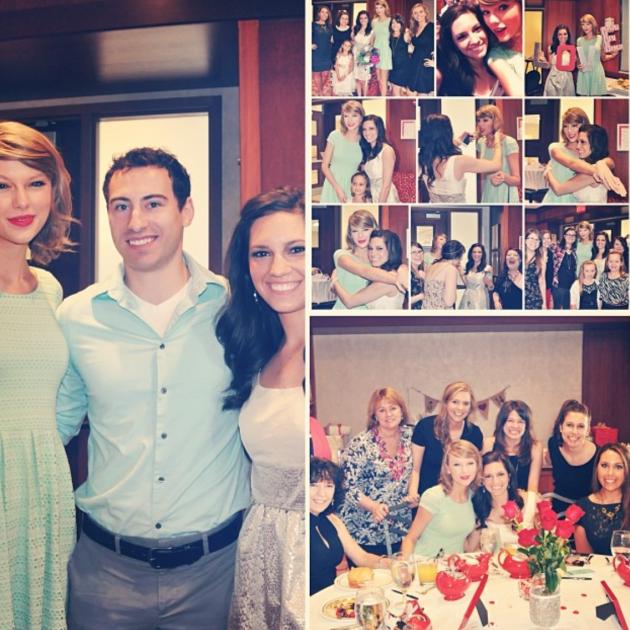 Taylor Swift Bridal Shower Pics