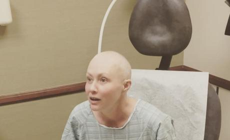 Shannen Doherty Bald Photo