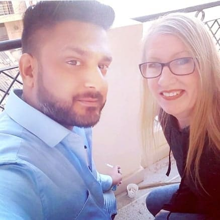 Sumit and Jenny Together