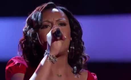 Sasha Allen - The Voice Blind Audition