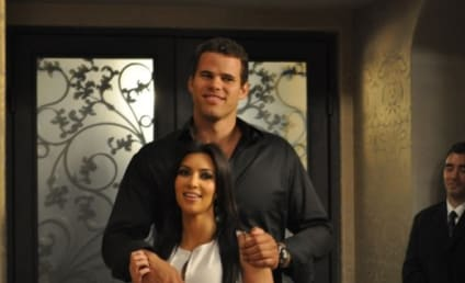 Kim Kardashian & Kris Humphries: The Engagement Party Photo!