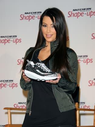 Sneaker Spokeswoman