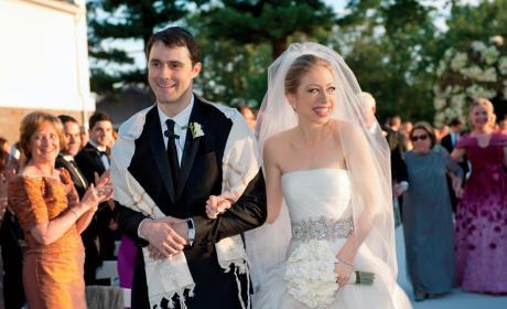 Chelsea Clinton Wedding Photo