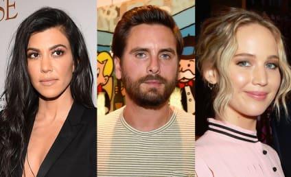 Kourtney Kardashian to Jennifer Lawrence: Stay Away From Scott Disick!