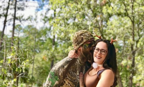 Jenelle Evans and David Eason on Halloween