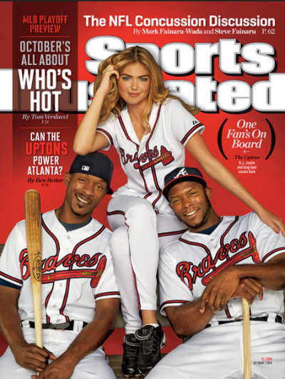 Kate Upton Sports Illustrated Baseball Preview Cover