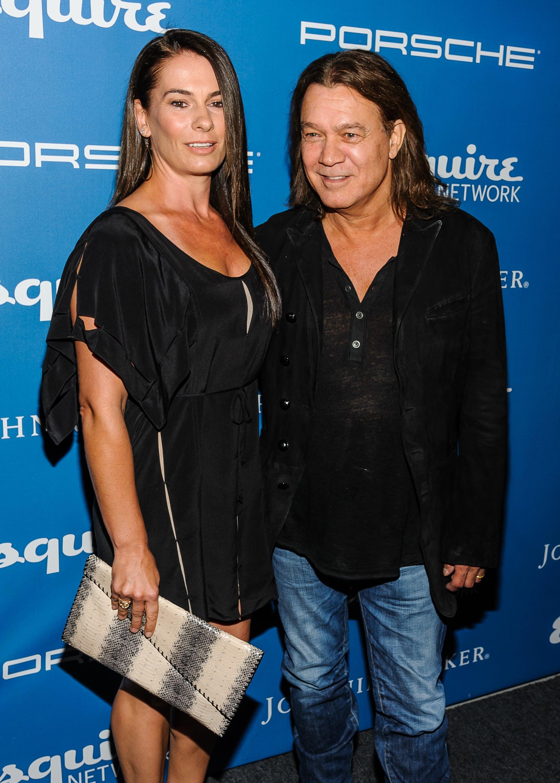 Eddie Van Halen And Janie Liszewski The Hollywood Gossip