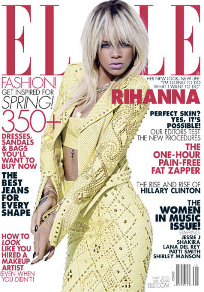 Rihanna Elle Magazine Cover