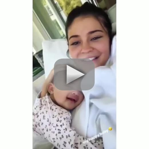 Kylie jenner giggles with stormi in a precious video watch