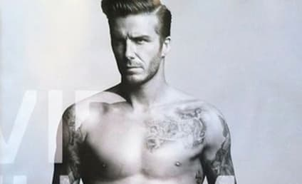 David Beckham H&M Underwear Ad: Revealed, Hot!