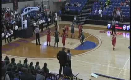 Shanteona Keys, Georgia College Player, Misses Free Throw Attempt in Epic Fashion
