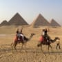 Kourtney Kardashian and Younes Bendjima in Egypt