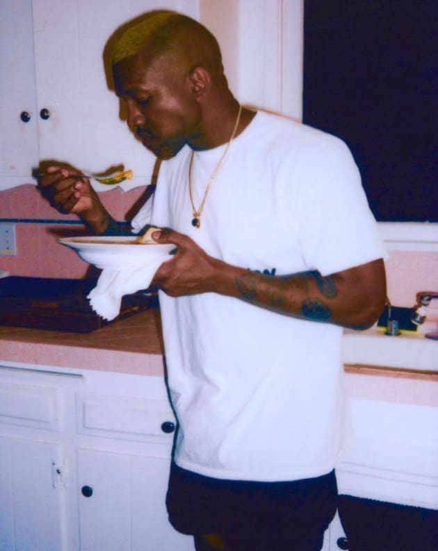 Kanye West Eats