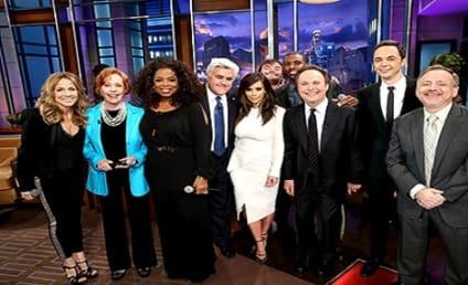 Kim Kardashian and Kompany Sing Goodbye to Jay Leno