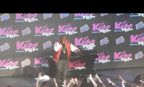 Sean Kingston KISS Concert Performance