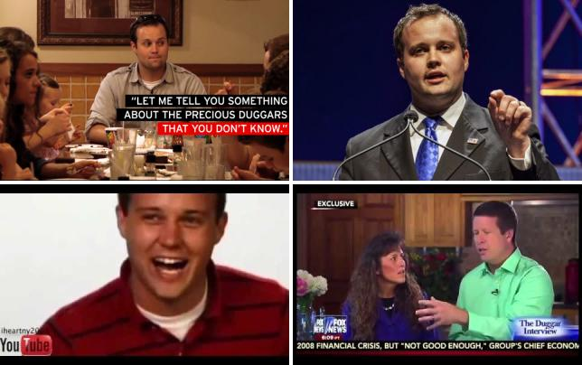 Josh duggar at dinner