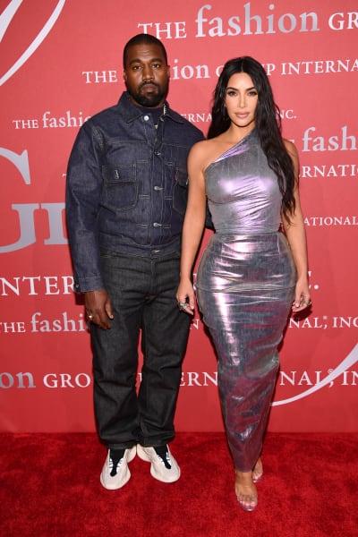 Kim y Kanye lo abandonan