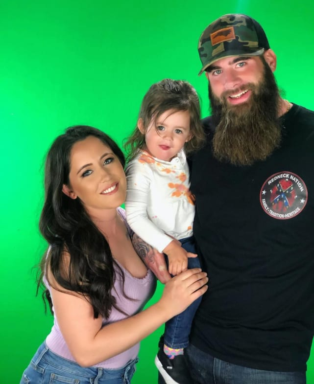 Jenelle with david and ensley