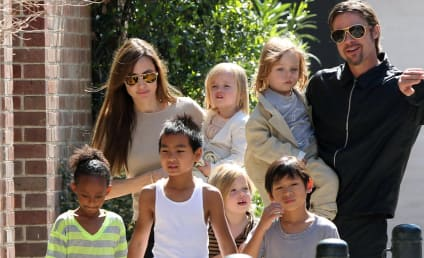 Angelina Jolie Introduces Shiloh to Grandmother