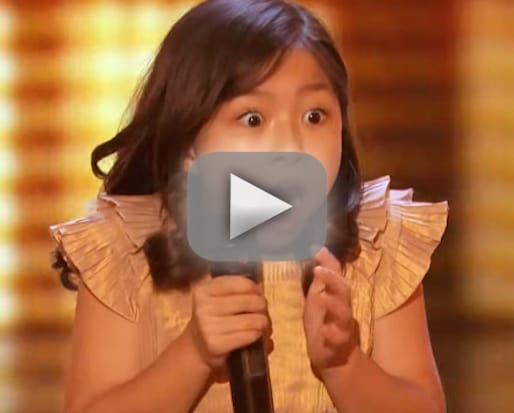Celine tam cutest 9 year old ever earns golden buzzer on america