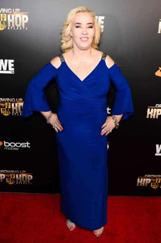June shannon at the growing up hip hop atlanta premiere