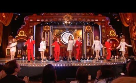 The Jersey Boys Close the Tony Awards