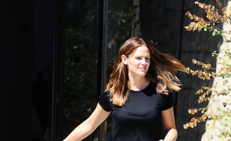Jennifer Garner With Son