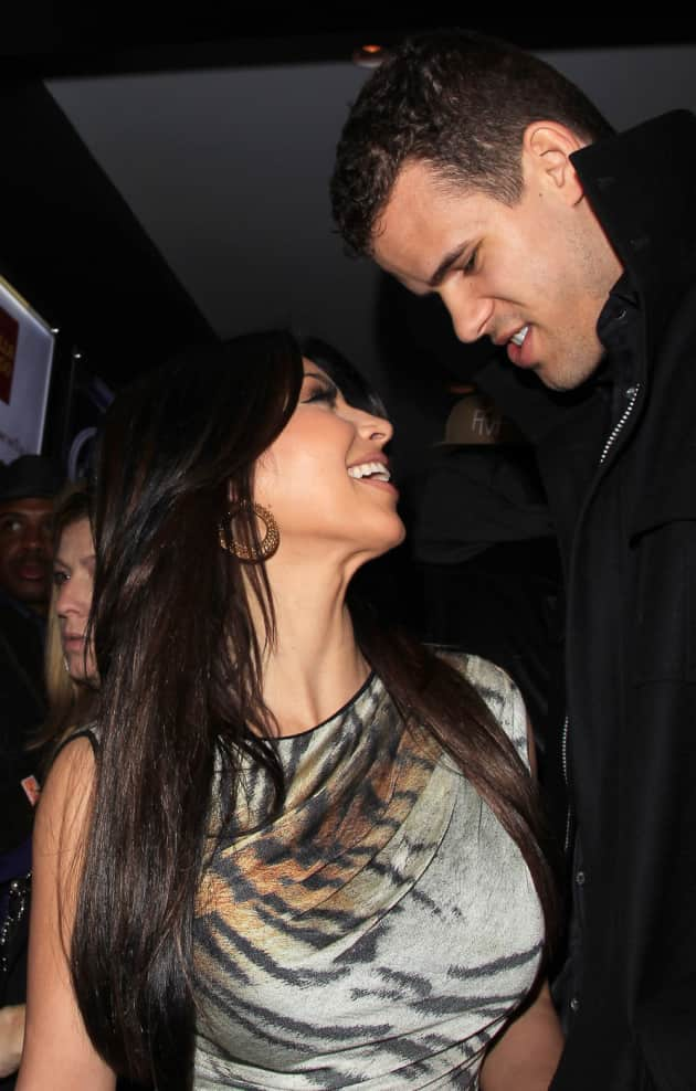 Kim Kardashian and Kris Humphries Pic