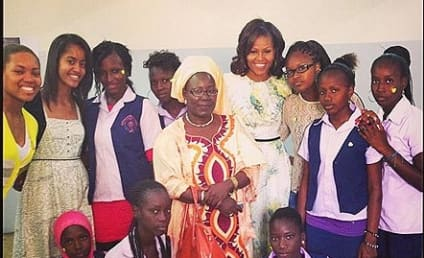 Michelle Obama Joins Instagram, Posts Photo From Africa