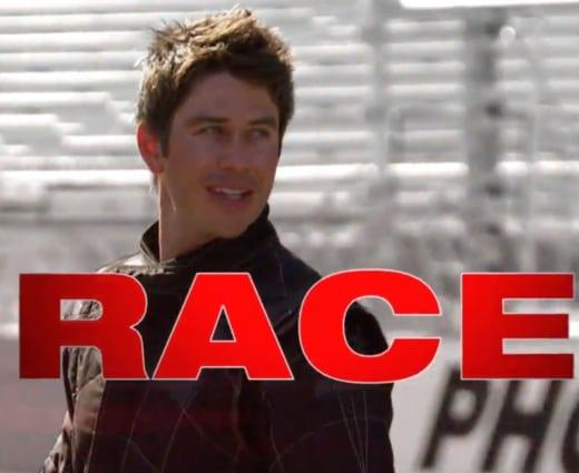 Arie Luyendyk Jr. race