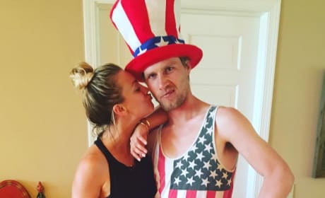 Kaley Cuoco Loves America