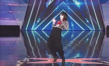 Nick Cannon Pulls Epic Mime Prank on America's Got Talent