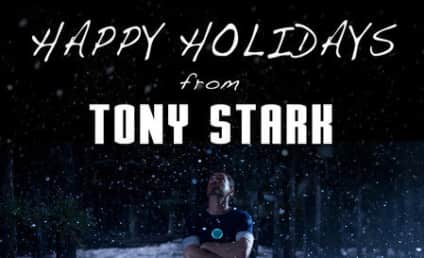 Iron Man 3 Christmas Card: Best Wishes from Tony Stark!