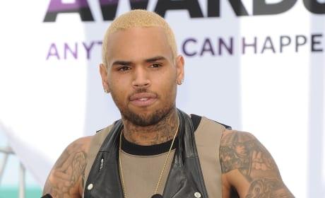 Chris Brown Arm Tattoos