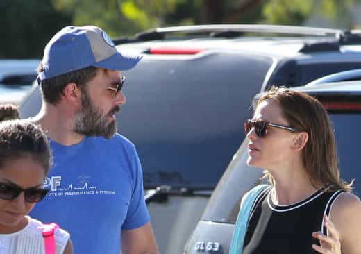 Ben Affleck and Jennifer Garner: Tense Times at Pacific Palisades Farmers Market