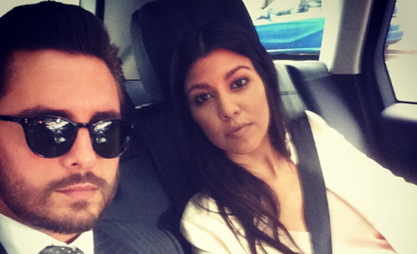 Kourtney Kardashian and Scott Disick Picture Together