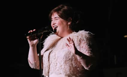 Susan Boyle Breaks Down at Airport, Gets Rushed to Hospital