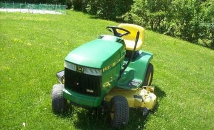 Man Arrested for Drunk Driving on Lawn Mower